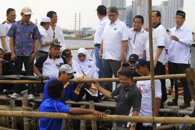Nelayan Muara Angke Punya Pulau Reklamasi Sendiri
