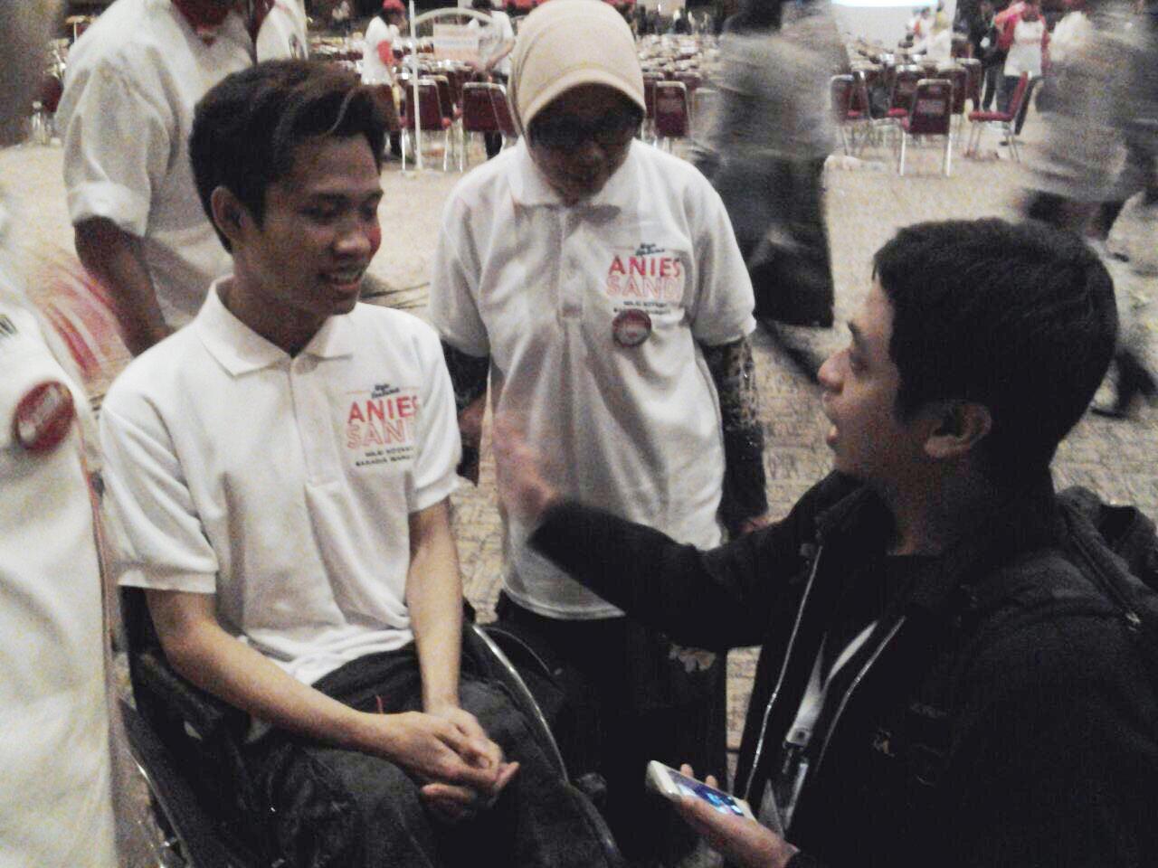 Ketika Para Penyandang Disabilitas Siap Dukung Anies-Sandi di Pilkada DKI