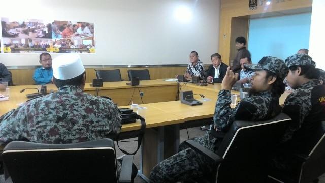 Minta Kejelasan Proses Kasus Penistaan Agama, BAKORPA Datangi FPKS Jakarta