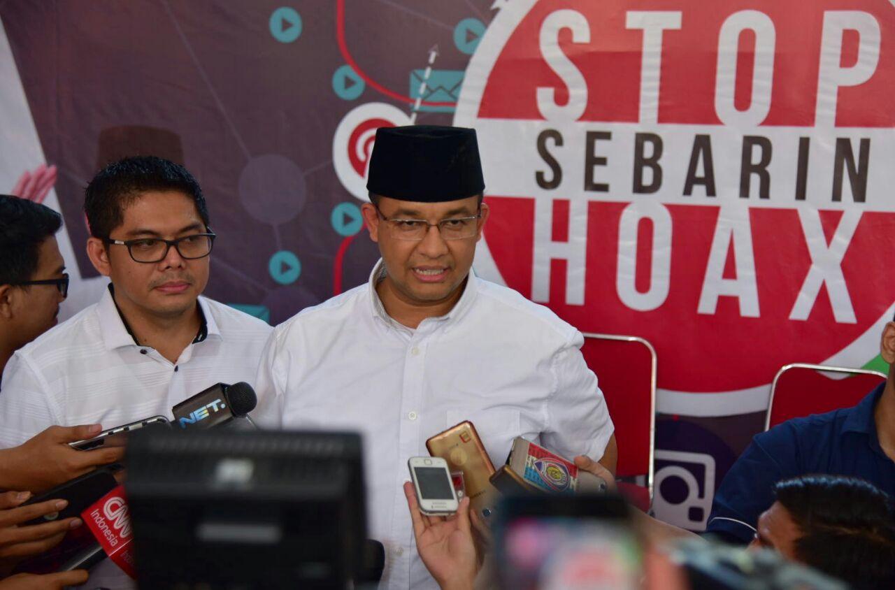 Sandiaga Launching Program Stop Sebarin Hoax