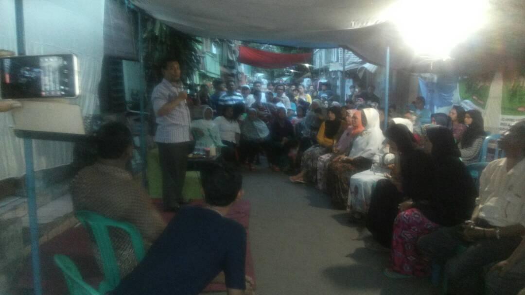 Aleg FPKS Jakarta Bantu Mediasi Warga Manggarai Tebet dengan PT KAI