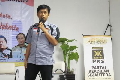 Inilah Pesan Ketua Gema Keadilan DKI Jakarta 2017-2022 Noval Abuzarr