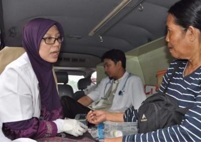 Banyak Pemudik Kunjungi Posko Mdik PKS Jakarta Selatan