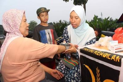 FOTO – Posko Mudik Ramah Keluarga Jakarta Barat
