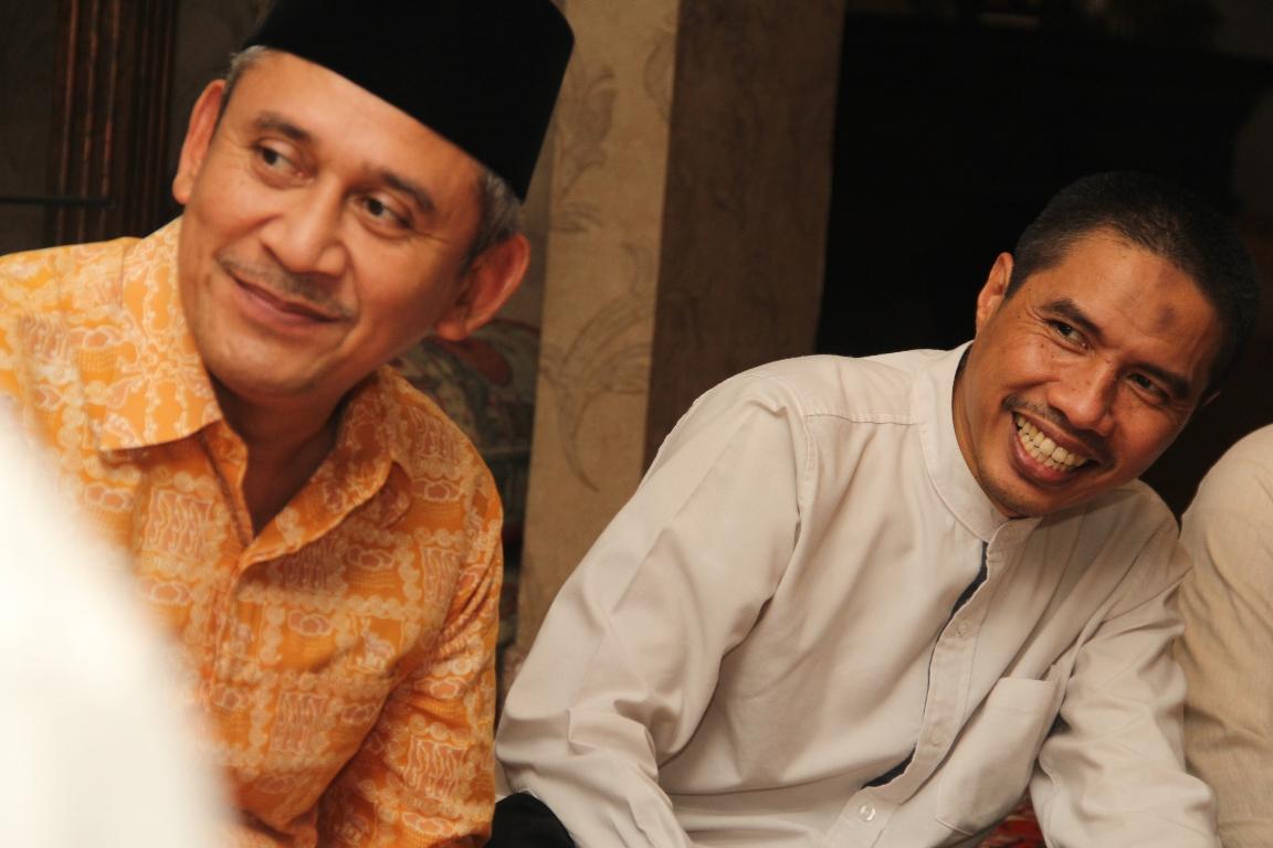 FOTO – Pimpinan PKS Jakarta Hadiri Undangan Buka Puasa Bersama di Kediaman HNW