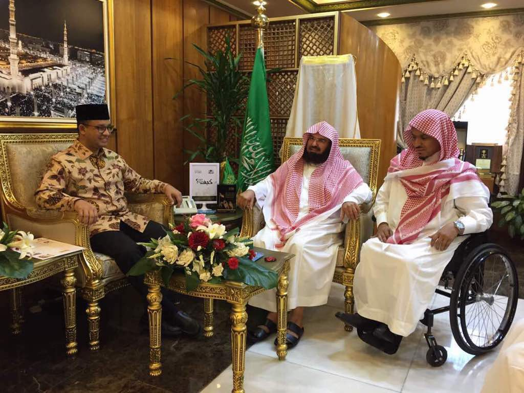 Usai Umrah, Anies Diundang Khusus Imam Besar Masjidil Haram