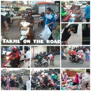 Aksi PKS Pesanggrahan Buat Gembira Pengguna Jalanan