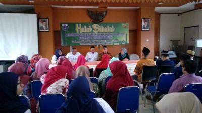 Aleg DPRD DKI Hadiri Acara Halal Bi Halal di Kelurahan Pela Mampang