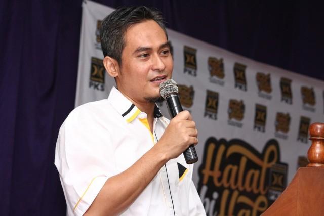 Sambutan Ketua DPC Cipayung Triyono Mukti pada HBH PKS Cipayung