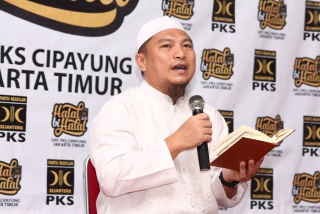 Taujih kemenangan oleh Ust. Muhendri Muchtar pada HBH PKS Cipayung